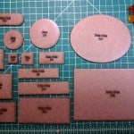 Laser cut bases