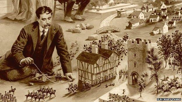 HG Wells Little Wars a bit of wargaming history