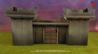 Modular Fort setup for kings of war siege