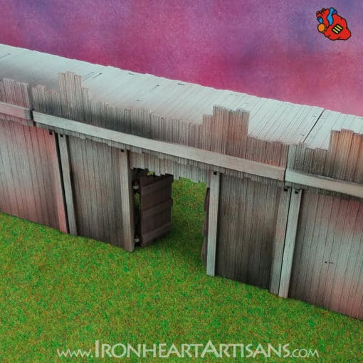Modular Fort Gate for Kings of War