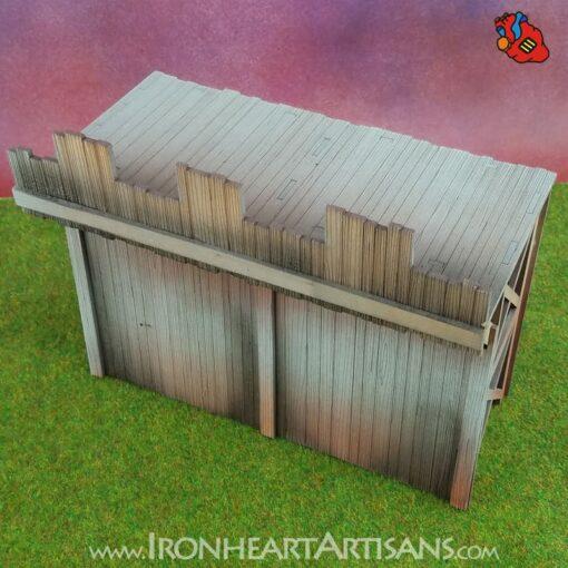 Modular Fort Short Wall for Kings of War