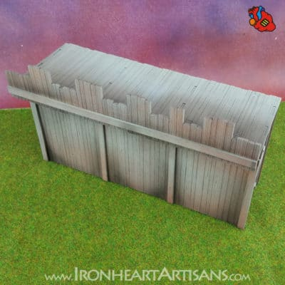 Modular Fort Long Wall for Kings of War