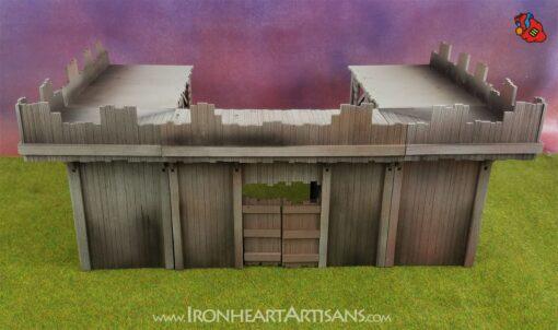 Modular Outpost setup for kings of war siege