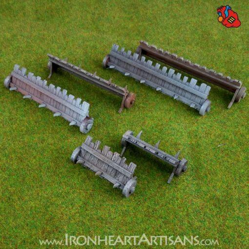 Kings of War Siege Mantels