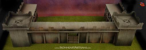 Modular Wide fort setup for kings of war siege