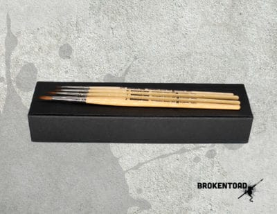Broken Toad MINIATURE SERIES MK3 PAINT BRUSH SET