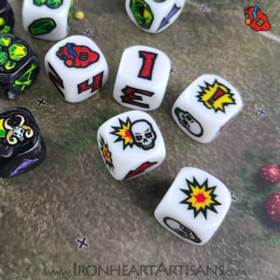 Ironheart Block Dice