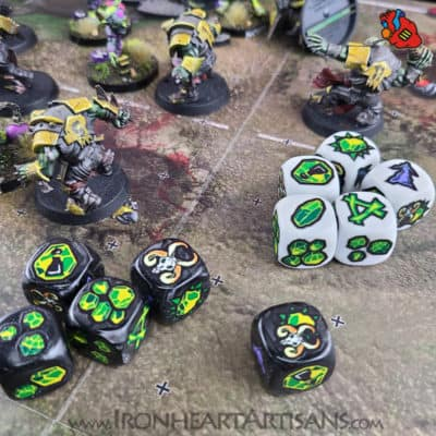 Blood Bowl Skaven Block Dice